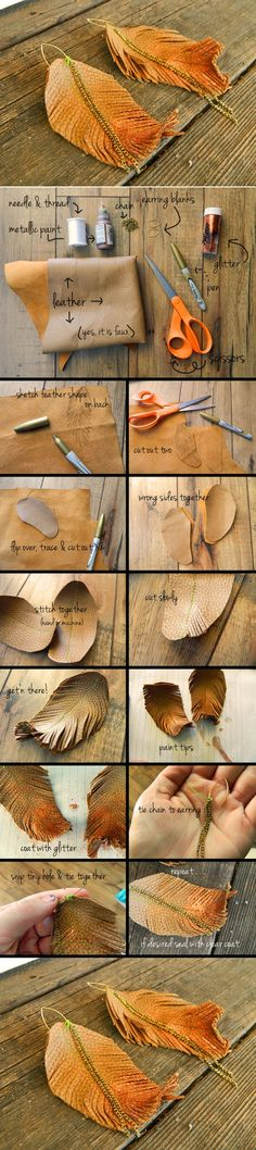 Beautiful Leaf Craft | DIY & Crafts Tutorials