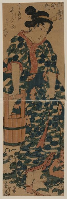 Keisai Eisen: The maiden Chiyo from Kaga. - Library of Congress