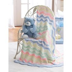Ripple Blanket in Bernat Baby Coordinates Solids. Discover more Patterns by Bernat at LoveKnitting. The world's largest range of knitting supplies - we stock patterns, yarn, needles and books from all of your favorite brands.