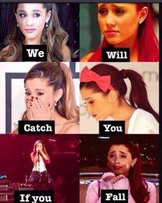 Ariana is so broken rn because of Grandpa G! & a fan today saw her somewhere & she was crying. I wish I could give her a biig hug! Frankie Grande, Ariana Grande Quotes, Ariana Grande Fans, Ariana Grande Dangerous Woman, Photo Recreation, Shes Perfect, Bae, Cat Valentine, Iggy Azalea