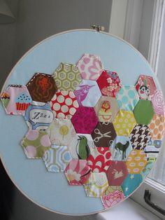 Hexagons framed by Sarahbella3, via Flickr