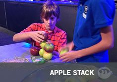 Apple Stack - Fun Ninja Youth Group Games