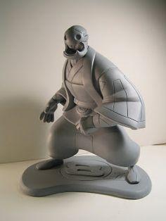 Sean Galloway's Kuta. Sculpt by Irene Matar