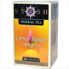 Stash Tea Company Premium Lemon Ginger Herbal Tea Caffeine Free 20 Bag Pack of 6 Review Buy Now