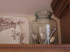 ANTIQUECHASE: Decorating above Kitchen Cabinets ~ Why is it so hard?