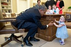 The 40 Most Adorable Pictures Of President Obama Bonding With Children