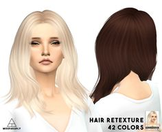 Nightcrawler GetUp hair retexture at Miss Paraply via Sims 4 Updates