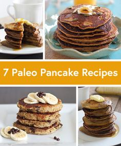 7 Quick and Easy Paleo PancakeRecipes. #7 Simple Flapjacks are delish! Great texture and taste, and super easy to whip up the batter in my Vitamix. I wanted to add blueberries but didn't have any so I diced up an apple, tossed it with cinnamon and walnuts, and cooked it in the skillet for a few minutes to soften the apple. Yum!