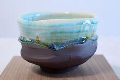 Mino yaki ware Japanese tea bowl