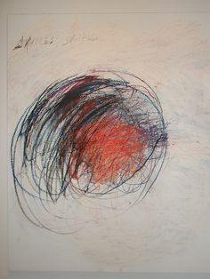 Cy Twombly 'Shield of Achilles', Museum of Art, Philadelphia, Pennsylvania by…