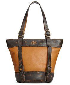 Patricia Nash Handbag, Enna Bucket Bag - Handbags & Accessories - Macy's  Just bought this at Macy's! $118