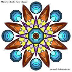 Mandala vibracional de activación energética