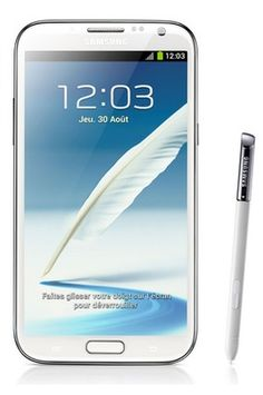Mobile nu Samsung GALAXY NOTE 2 4G BLANC