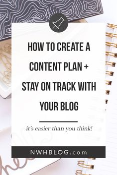 Ever get stuck on what to write for your next blog post? With just a little bit of planning you can plan out your content and always have something to share. #blogging #bloggingtips #blogcontent #editorialcalendar
