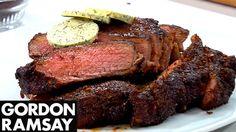 Philips Airfryer Gordon Ramsay Coffee & Chili-Rubbed Steak Recipe - YouTube
