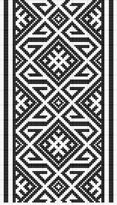 Charted Patterns from Medieval Egypt - Pattern Darning Crochet Diagram, Crochet Chart, Crochet Motif, Crochet Stitches, Tapestry Crochet Patterns, Weaving Patterns, Embroidery Patterns, Quilt Patterns, Tablet Weaving