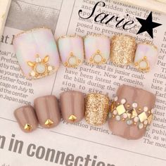 Not one for toe nail art,  but gorgeous