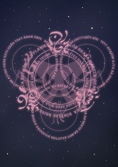 Magic circle by camelpardia.deviantart.com on @DeviantArt