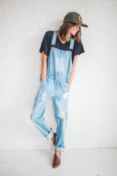The Brooklyn Overall – cladandcloth