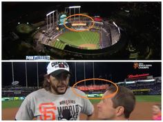 CLASS ACT IN DEFEAT: Giants fans on twitter pointed out a classy move by the Royals after San Francisco clinched the title last night. The fountains at Kauffmann Stadium, which had been many different colors during the series, including Royals blue, were turned orange... presumably to congratulate the Giants!