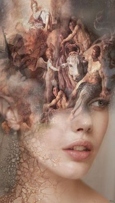 Buy FREE YOUR MIND, Manipulated photograph by Bojan Jevtić on Artfinder. Discover thousands of other original paintings, prints, sculptures and photography from independent artists. Art Pictures, Art Images, Surealism Art, Surreal Art, Double Exposure, Aesthetic Art, Oeuvre D'art, Collage Art, Art Girl