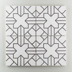 Tile option for small bath - Kasbah Trellis Fireclay Tile