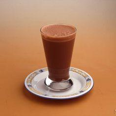 Batido helado de chocolate