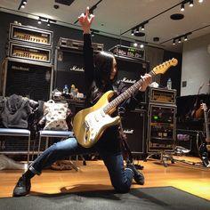 リハーサル7日目! リッチー・ブラックキャット登場 Rehearsal DAY7! Ritchie Blackcat! #陰陽座#onmyouza