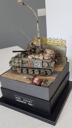 Academy scale model with Legend IDF conversion and stowage
