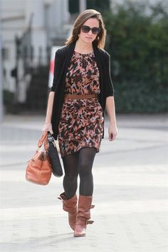 LOVE Pippa's fall outfit!