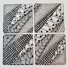 Friday Zentangle Challenge which has morphed into the Hump Day Zentangle Challenge. Tangled Flower, Character Flaws, First Boyfriend, First Friday, Zentangle, Tiles, Challenges, Google Search, Room Tiles