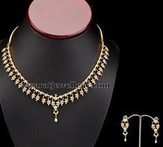 Jewellery Designs: Diamond Regal Necklace