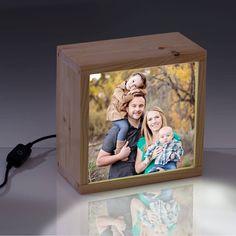 Caja de luz personalizable con tu foto favorita - kitkasa