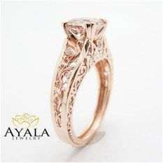nice 222 Luxury Rose Gold Engagement Ring Vintage For Your Perfect Wedding femaline. Oval Engagement, Rose Gold Engagement Ring, Vintage Engagement Rings, Wedding Jewelry, Wedding Rings, Jewelry Trends, Jewelry Ideas, Perfect Wedding, Jewelery