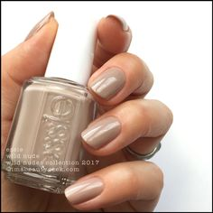Essie Wild Nude _ Essie Wild Nudes Collection 2017 Swatches Review