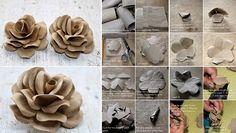 toilet tubes paper roses:  www.goodshomedesign