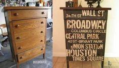 Por meu quartos com móveis customizados!