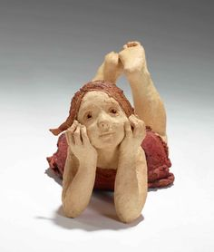 Born in Utena in Jurga lives and works in France. She exhibits her bronze or terra Cotta works in numerous galleries. Paper Mache Sculpture, Sculptures Céramiques, Art Sculpture, Pottery Sculpture, Ceramic Sculptures, Ceramic Pottery, Pottery Art, Ceramic Art, Paper Clay