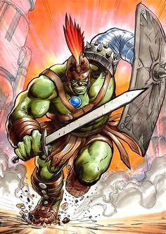 Planet Hulk by Yildiray Cinar