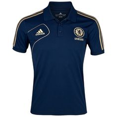 Chelsea Training Polo - Collegiate Navy/Light Football Gold | Chelsea Mega Store Asia Pacific 車路士/切尔西亚太区购物网