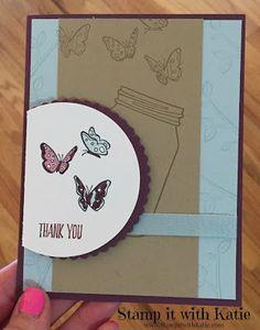 Stamp It with Katie: Sweet Butterflies