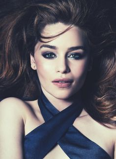 Emilia Clarke by David Roemer for Marie Claire UK July 2015