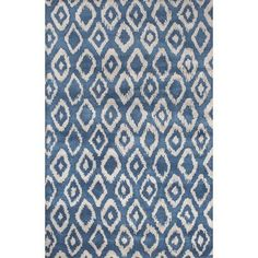 JaipurLiving Timeless Hand-Tufted Blue/Gray Area Rug Rug Size: