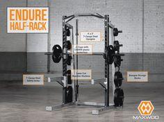 Maxwod Endure Series Half Racks | MaxWOD Fitness