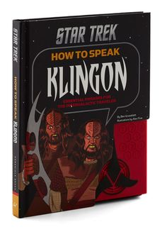 How to Speak Klingon by Chronicle Books - Black, Quirky, Good, Sci-fi, Top Rated $11.99 For DAD!!!
