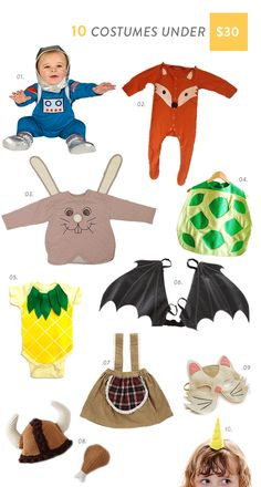 Here are 10 simple and cute costumes to buy under $30