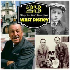 Happy Birthday Walt Disney! 23 Things You May Not Know About the American Icon!