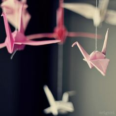 fun ways to decorate your house with origami - Google Search