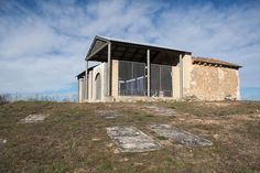 Yacimiento arqueológico de la ermita de la Santa Cruz en Valdezate