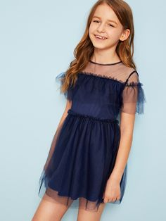 Junior Girls Clothing, Girls Sports Clothes, Girls Fashion Clothes, Tween Fashion, Girl Outfits, Fashion Outfits, Cute Girl Dresses, Stylish Dresses For Girls, Little Girl Dresses